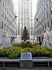 """Rockefeller Center the day after the lighting of the tree"" - Daily Photo - 12/20/12  I headed to the American Museum of Natural History when I saw the crowds waiting for the tree to be lit.  The museum was practically empty and had the place almost all to myself.  Passed the angels on my way to work the following morning and thought it worth a shot."